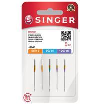 Agulhas Singer Números 12, 14, 16 Para Máquina De Costura Singer Facilita 4411 4423 4432 5511 5523