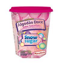 Algodão Doce Pronto Sabor Tutti Frutti Snow Sugar 35g - Mavalério