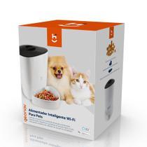 Alimentador inteligente wi-fi, 4l, para caes e gatos