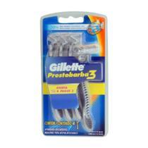 Aparelho de Barbear Prestobarba 3 Masculino  (Leve 4 e Pague 3) - Gillette