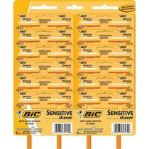 Aparelho de Barbear Sensitive Shaver - 12 embalagens c/ 2 unidades - BIC