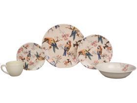Aparelho de Jantar Chá 20 Peças Haus Cerâmica