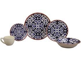 Aparelho de Jantar Chá 30 Peças Haus Cerâmica
