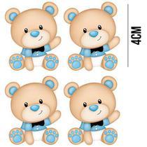 Aplique de MDF e Papel - Ursinhos Baby APM3 - 217