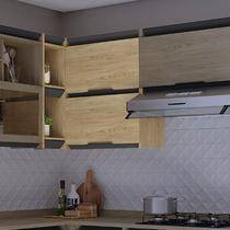Armário de Cozinha de Canto 2 Portas Hibisco Thela Aveiro
