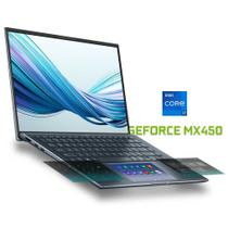 Asus UX435 (Ultrabook) Intel 11ª geração i7-1165G7 tela 14' FHD Nvidia MX450 SSD 1Tb RAM 16Gb