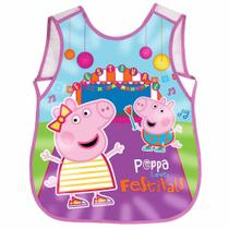 Avental Escolar Peppa Pig Dermiwil 37466