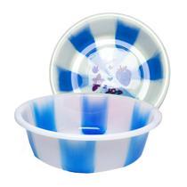 Bacia De Plástico 3 Litros Multiuso Azul Resistente