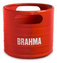 Balde Barril Brahma Vermelho