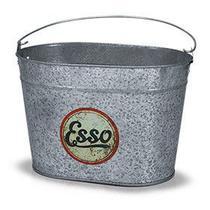 Balde De Gelo Galvanizado - Linha Retrô Oval - Esso - 5L