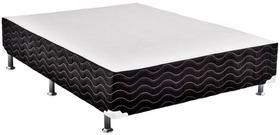 Base de Cama Box Light Black Alta Casal 138 cm (LARG) - 42678