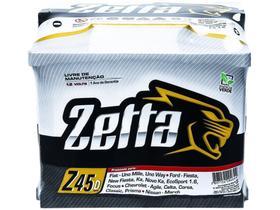 Bateria de Carro Zetta Green Energy - 45Ah 12V Polo Positivo Direito MGE