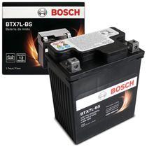 Bateria de Moto Bosch Dafra Fym Honda Kasinski Sundown Suzuki Yamaha BTX7L-BS 12V