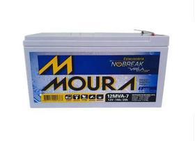 Bateria Gel Selada 12V 7ah - Moura No-break