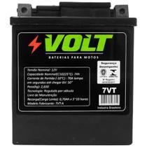 Bateria Moto Honda Cbx 250 Twister Volt 7VT Selada 7Ah 12v