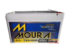 Bateria Moura Selada 7ah 12v Tecnologia Vrla / Agm