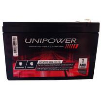 Bateria Selada 12V 7ah SEG Unipower - Alarme e Segurança