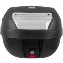 Bau Bauleto Pro Tork 28 litros Para Moto Com base Preto Com Lente Cristal BP03CL