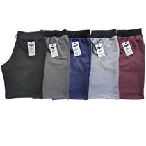 Bermuda de Moletom Masculina Shorts - Kit 05