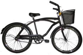 Bicicleta 26 Beach Bike Caiçara Praiana Harley Completa