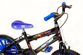 Bicicleta aro 16 infantil Preta/Azul bliss