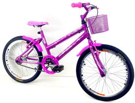 Bicicleta Aro 20 Feminina - Pink - ROUTE BIKE