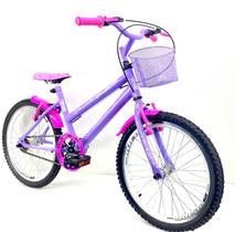Bicicleta Aro 20 Infantil Feminina