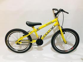 Bicicleta aro 20 infantil para menino masculino amarela
