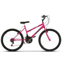 Bicicleta Aro 24 Feminina Aço Carbono Ultra Bikes