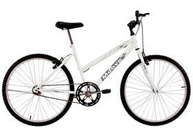 Bicicleta Aro 26 Feminina Adulto Sem Marcha Branca