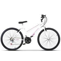 Bicicleta Aro 26 Feminino Aço Carbono Freio V Break Ultra Bikes