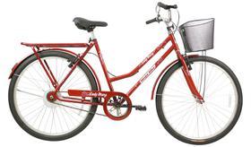 Bicicleta Aro 26 Lady Mary V.B Vermelho C/Ct