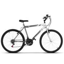 Bicicleta Aro 26 Masculina Bicolor Aço Carbono Ultra Bikes