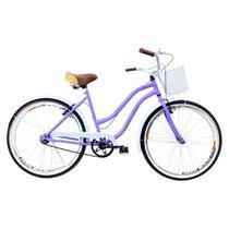 Bicicleta Aro 26 Retro Beach Feminina