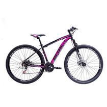 Bicicleta Aro 29 Ecos Touareg Feminina 24 Marchas Câmbios Shimano Freio A Disco