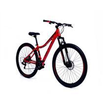 Bicicleta Aro 29 Feminina Gta NX11 24 Marchas Câmbios Shimano Freios A Disco Mecanicos