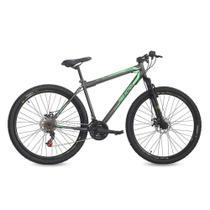 Bicicleta Aro 29 Flexus 21 Marchas Freio a Disco Status Bikes