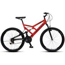 Bicicleta Colli Aro 26 Dupla Suspensão 21 Marchas GPS 148