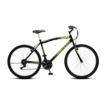 Bicicleta Colli CB500 Aro 26 18 Marchas Quadro Aço Carbono Freios V-Brake