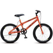 Bicicleta Colli Max Boy Aro 20 com Freio V-Brake e Guidão Down Hill - Laranja Neon