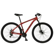 Bicicleta Colli Quadro em Alumínio 21 Marchas Aro 29 Freio a Disco Kit Shimano