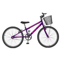 Bicicleta Feminina Free Aro 24 Freio V-Brake MTB Kls