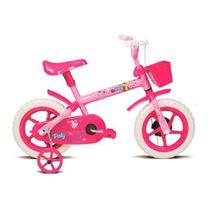 Bicicleta Infantil Aro 12 Verden Paty Fúcsia