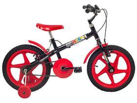 Bicicleta Infantil Aro 16 Verden Rock Vermelho