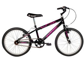 Bicicleta Infantil Aro 20 Verden Folks Preta