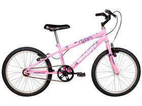 Bicicleta Infantil Aro 20 Verden Folks Rosa