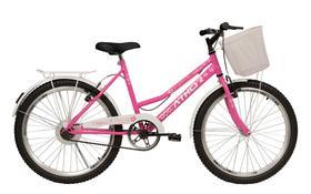 Bicicleta Infantil Feminina Athor Nature Aro 24 C/ Cesto