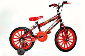 Bicicleta Infantil Masculina Aro 16 Vermelha