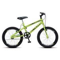 Bicicleta Infantil Menino Masculina Aro 20 Colli Max Boy - Amarelo Neon