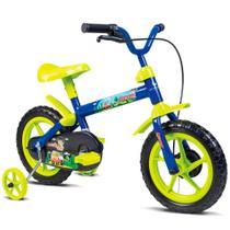 Bicicleta Infantil Verden Bikes Jack Aro 12 Azul e Verde Limão - 10445